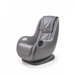 DOPIO fotel wypoczynkowy z funkcją masażu popielaty