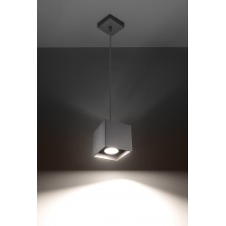 Lampa Wisząca QUAD 1 Szary