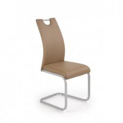 K371 krzesło brązowy