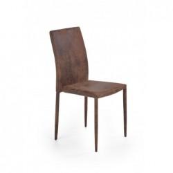 K375 krzesło ciemny brązowy