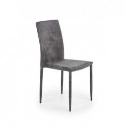 K375 krzesło ciemny popielaty