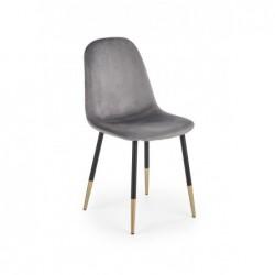 K379 krzesło popielaty