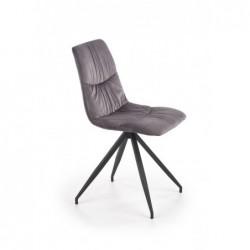 K382 krzesło popielaty