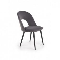 K384 krzesło popielaty /...