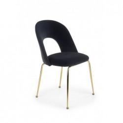K385 krzesło czarny / złoty