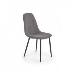 K387 krzesło popielaty