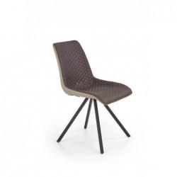 K394 krzesło ciemny popiel...