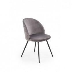 K395 krzesło popielaty