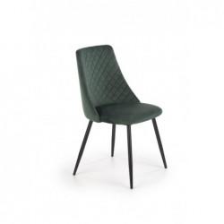 K405 krzesło ciemny zielony