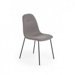 K413 krzesło popielaty