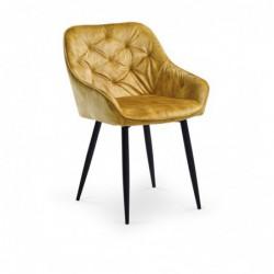 K418 krzesło musztardowy