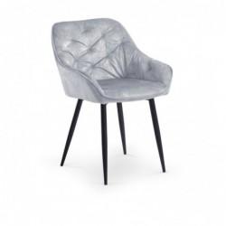 K418 krzesło popielaty
