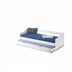 LEONIE 2 łóżko białe