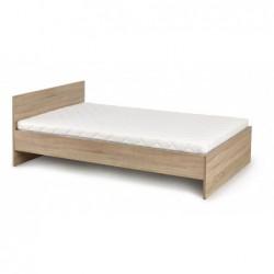 LIMA łóżko 120 dąb sonoma