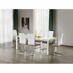 STANFORD stół rozkładany biały