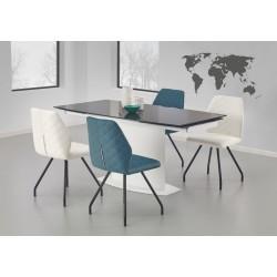 ANDERSON stół biało-czarny
