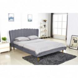 VALVERDE łóżko popielaty /...