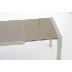 ARABIS stół rozkładany j.brąz/beżowy
