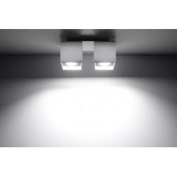 Plafon QUAD 2 Biały