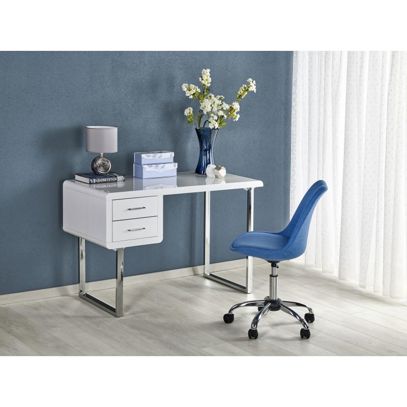 B30 biurko biały-chrom