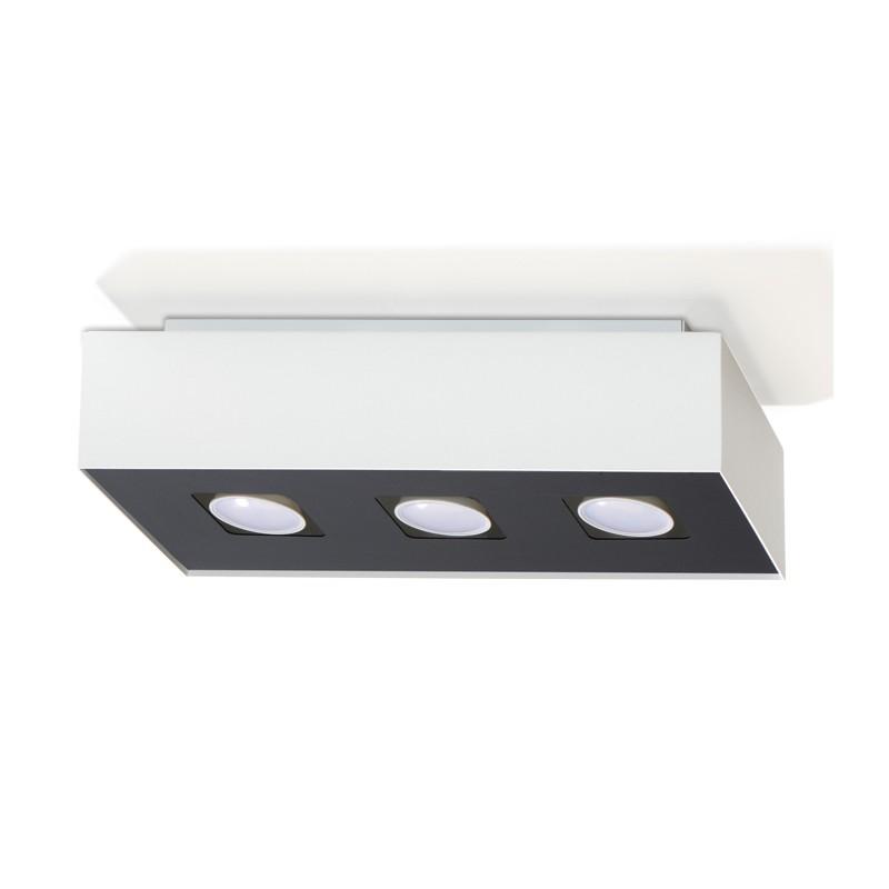 Plafon MONO 3 Biały