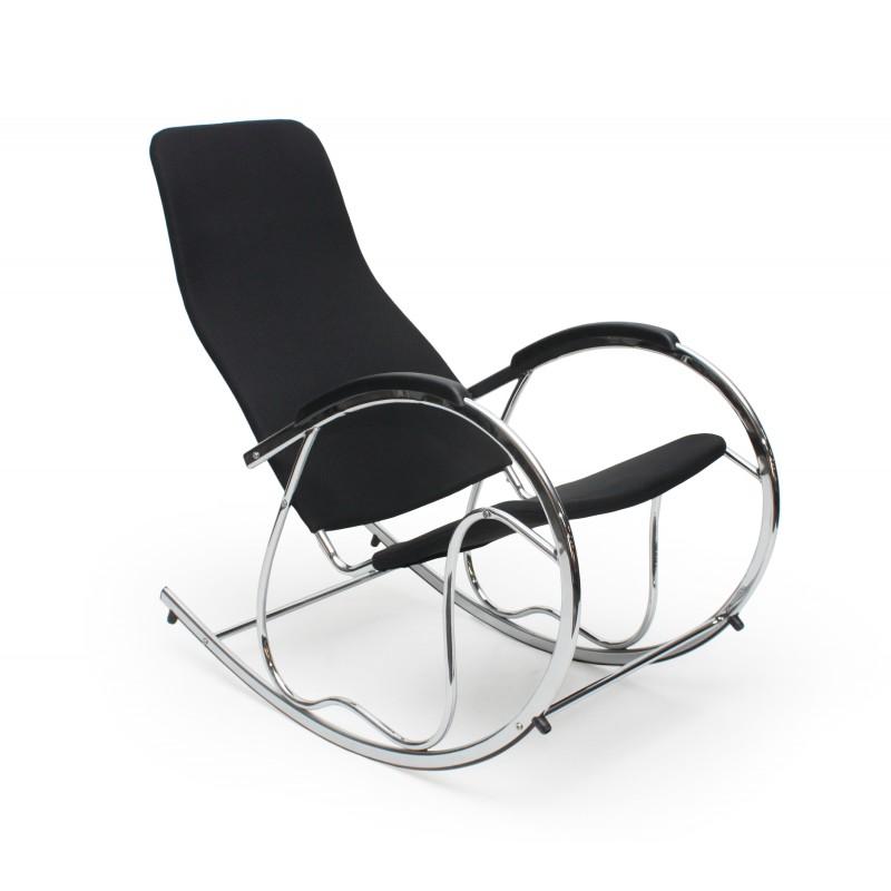 BEN 2 fotel bujany czarny