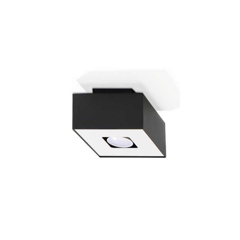 Plafon MONO 1 Czarny