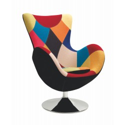 BUTTERFLY fotel patchwork