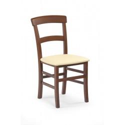 TAPO krzesło /eko skóra MADRYT111/ czereśnia ant.
