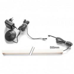 Oświetlenie LED listwy za półki LED 1-pkt. OŚWIETLENIE IZLED16L01P01-WW00 Forte