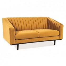Sofa Asprey 2 Velvet Czarny...