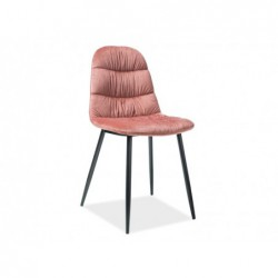 Krzesło Vedis Velvet Czarny...