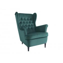 Fotel Harry Velvet Zielony...