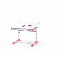 COLLORIDO biurko biało-zielono-różowy