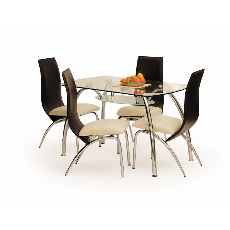CORWIN BIS stół bezbarwny