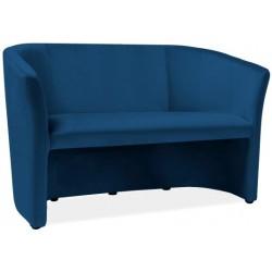 Sofa Tm-2 Velvet Granatowy...
