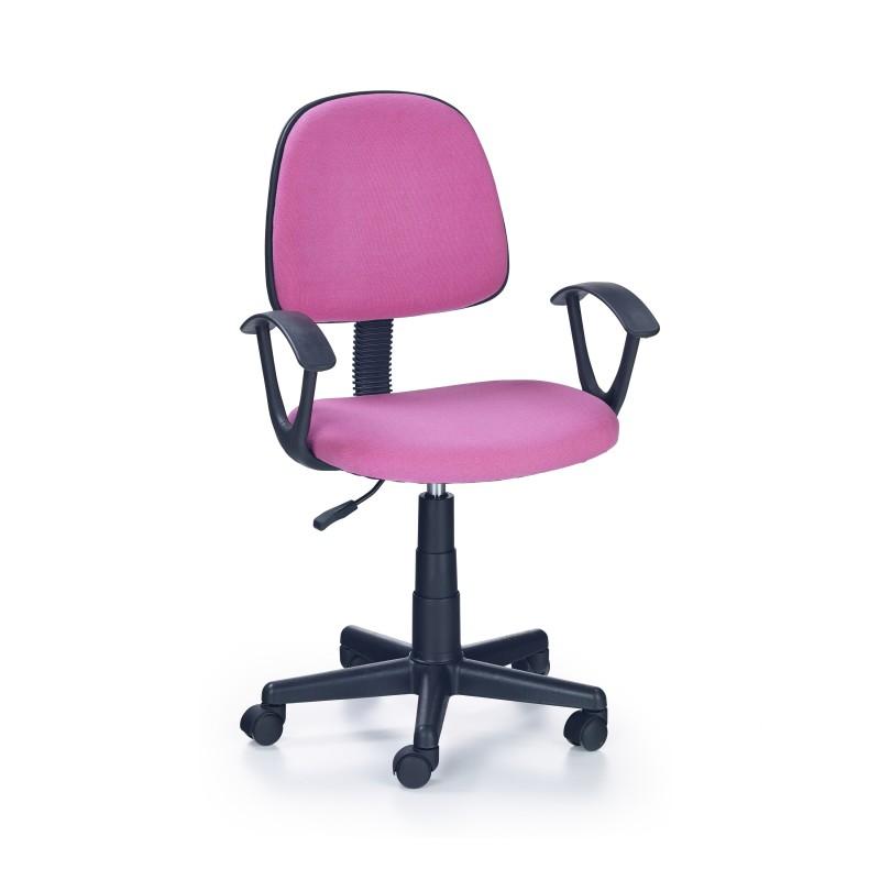 DARIAN BIS fotel młodzieżowy różowy