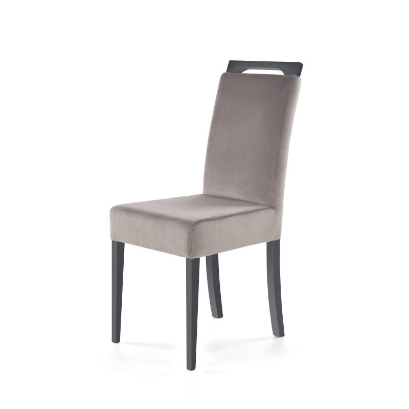 CLARION krzesło grafitowy / tap: RIVIERA 91