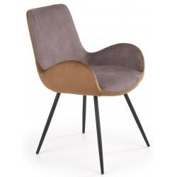 K392 krzesło popielaty /...