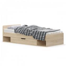 Łóżko 1S/90 Dąb Sonoma TIPS...