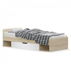 Łóżko 1S/90 Dąb Sonoma /...