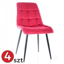Krzesło Chic Velvet komplet...