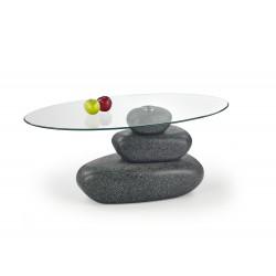 FLAVIA ława stone efect popiel