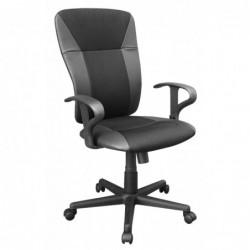 Fotel biurowy czarny QZY-1159