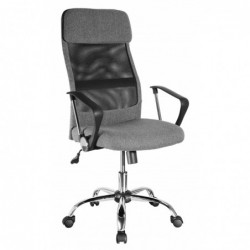 Fotel biurowy szary QZY-2502