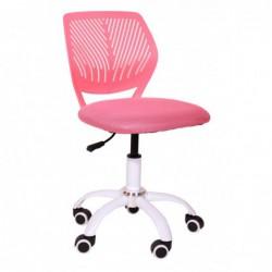 Krzesło obrotowe H-5 różowe