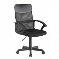 Krzesło obrotowe czarne QZY-68