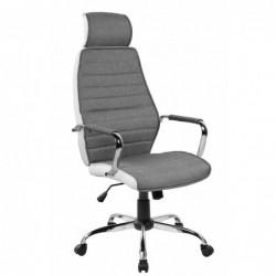 Fotel biurowy szaro/biały...