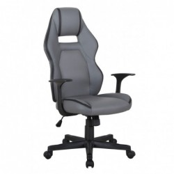 Fotel biurowy szary CX-1163M