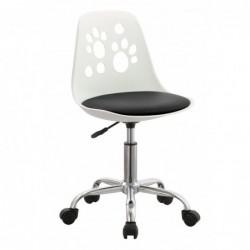 Krzesło obrotowe czarny N-03